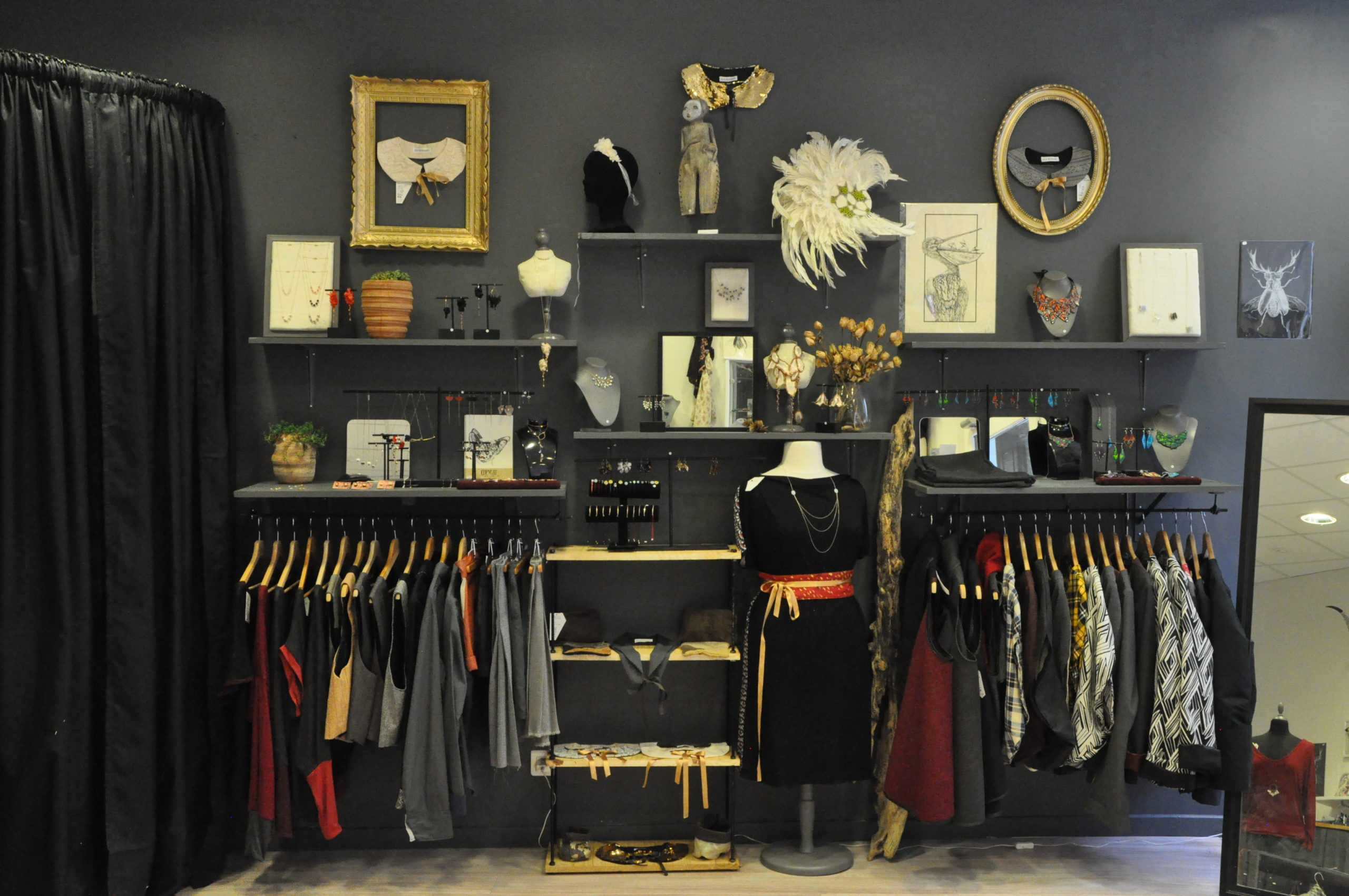 Intérieur de boutique