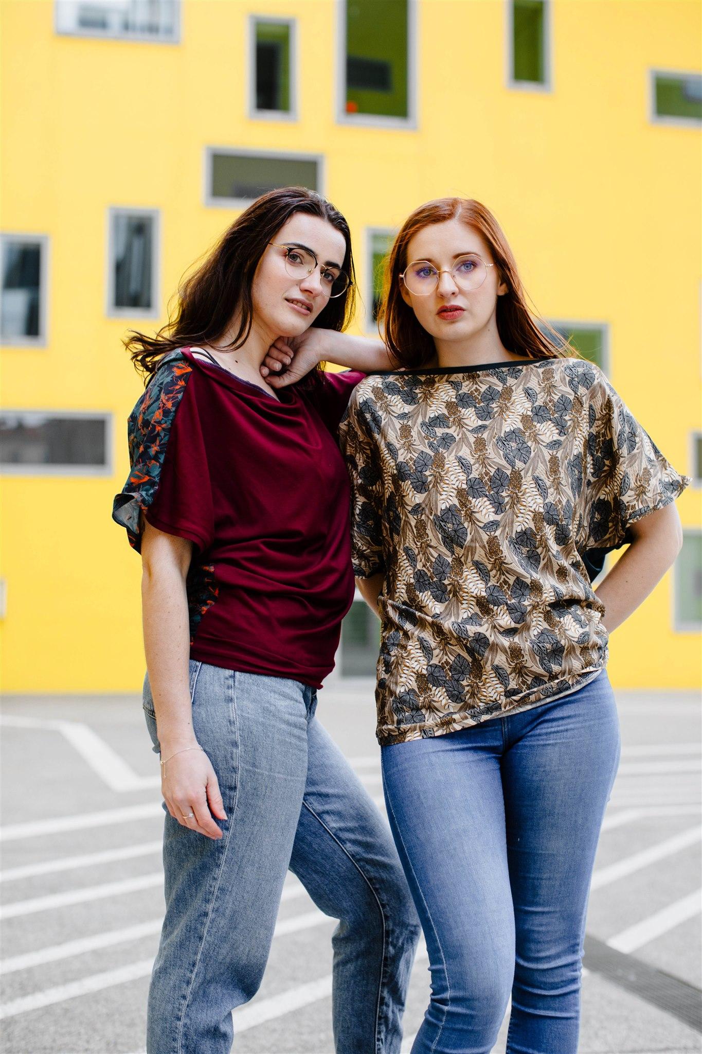 Julie Bonnard créations textiles vêtement prêt à porter Saint-Étienne - La Paire de Cerise (2)